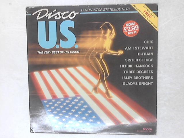 Disco U.S. COMP LP By Various