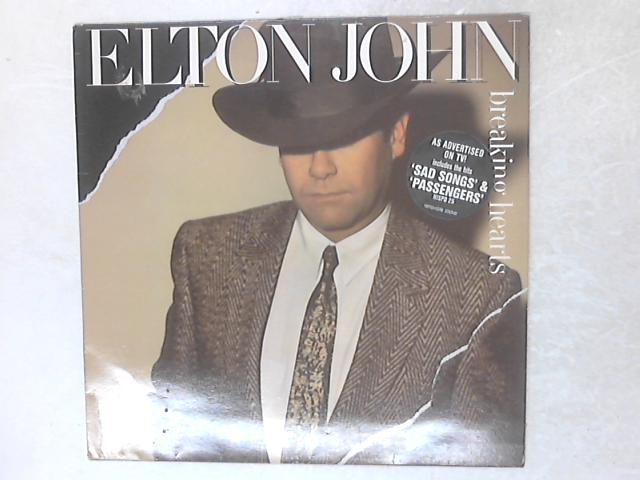 Breaking Hearts LP by Elton John