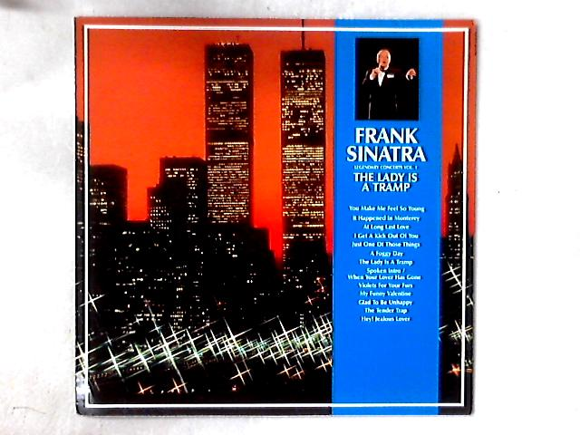 Legendary Concerts Vol. 1 The Lady Is A Tramp LP by Frank Sinatra