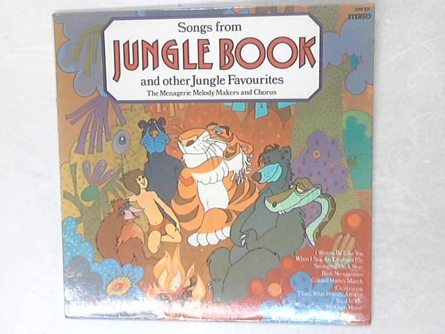 Songs From The Jungle Book And Other Jungle Favourites LP By The Menagerie Melody Makers