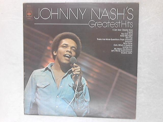 Johnny Nash's Greatest Hits LP By Johnny Nash