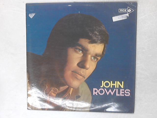 John Rowles LP By John Rowles