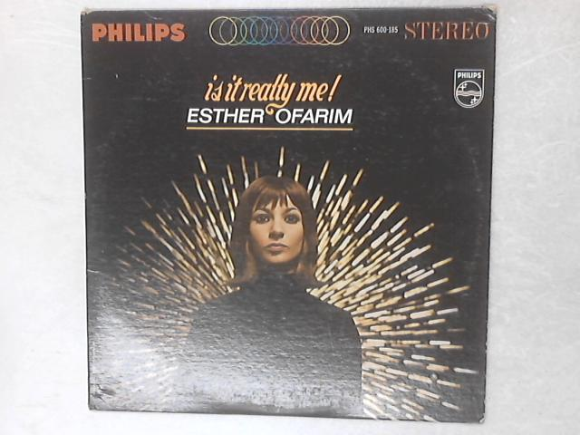 Is It Really Me! LP By Esther Ofarim
