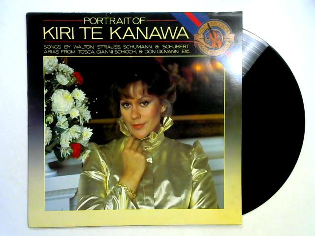 Portrait Of Kiri Te Kanawa LP By Kiri Te Kanawa