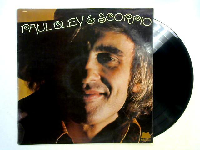 Paul Bley & Scorpio LP 1st By Paul Bley & Scorpio