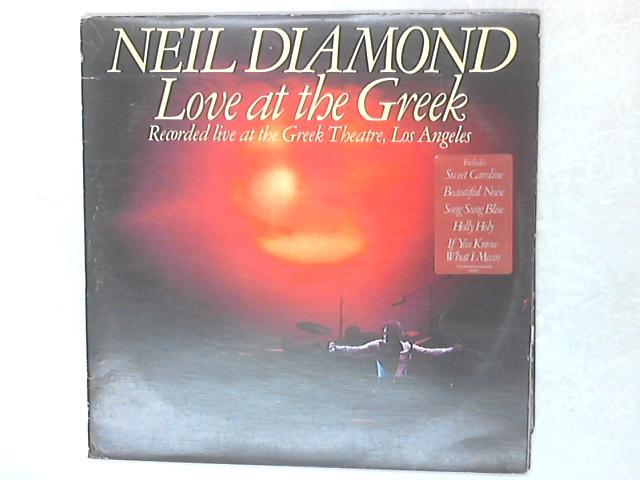 Love At The Greek 2xLP By Neil Diamond