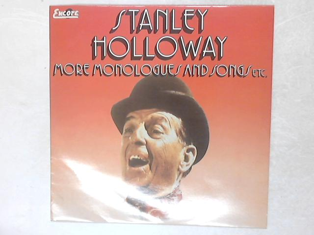 More Monologues And Songs Etc. LP By Stanley Holloway