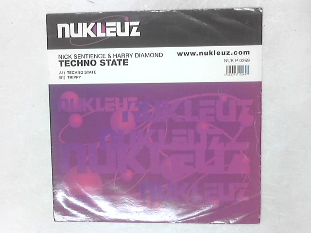 Techno State 12in Single By Nick Sentience