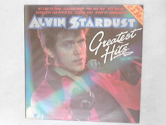 Greatest Hits LP By Alvin Stardust