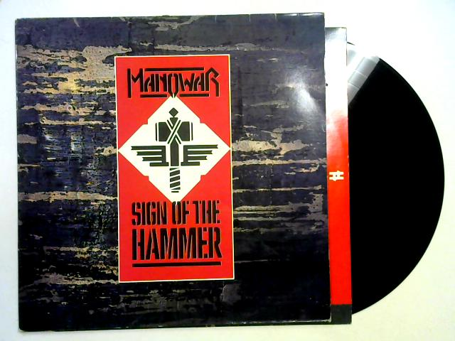 Sign Of The Hammer LP By Manowar