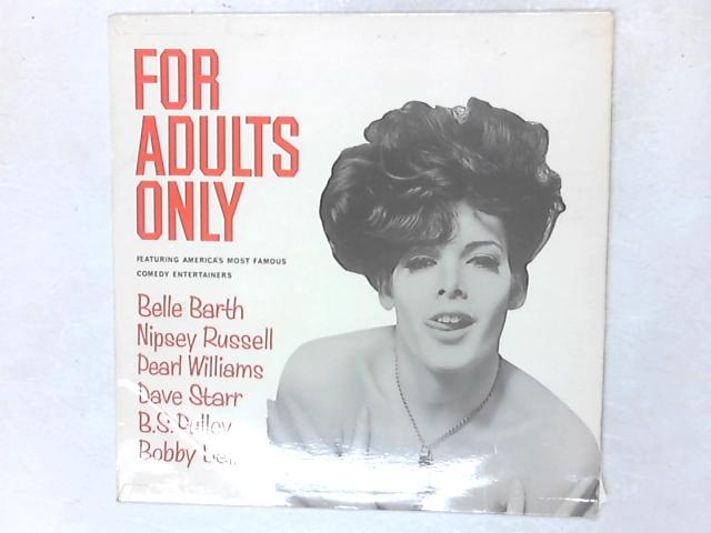 For Adults Only LP by Various