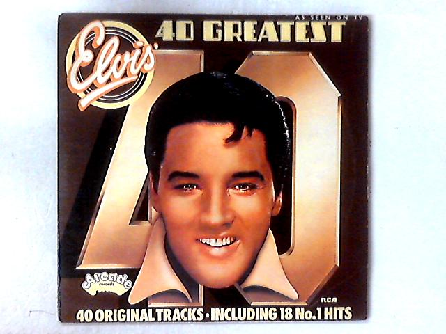 40 Greatest Hits 2xLP COMP By Elvis Presley