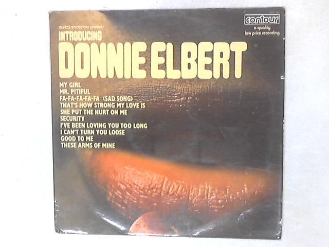 Introducing Donnie Elbert LP By Donnie Elbert