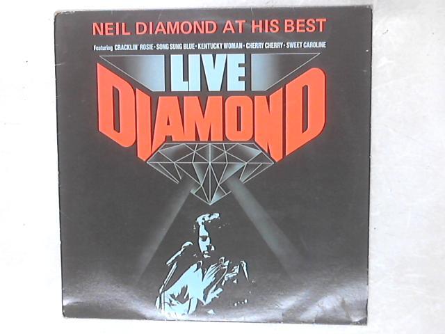 Live Diamond LP By Neil Diamond