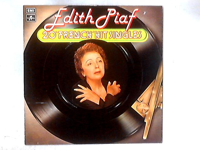 """20 """"French"""" Hit Singles LP COMP By Edith Piaf"""