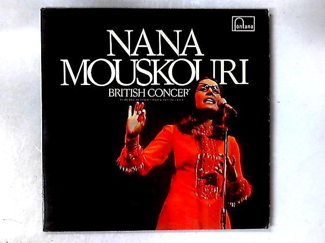 British Concert 2xLP GATEFOLD By Nana Mouskouri