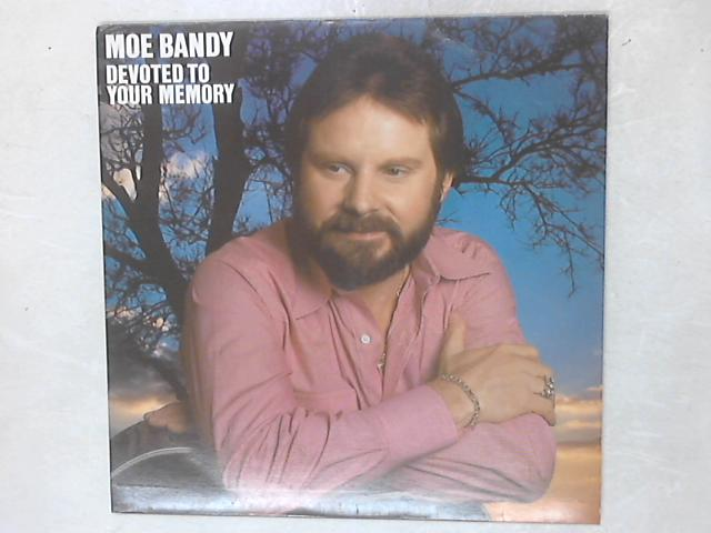 Devoted To Your Memory LP By Moe Bandy