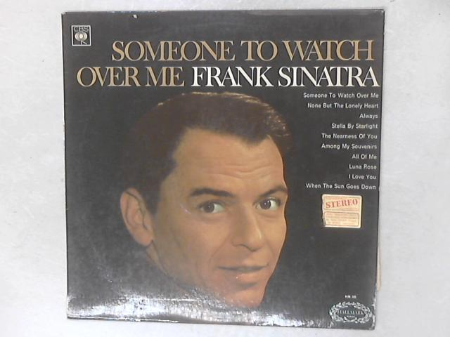 Someone To Watch Over Me LP By Frank Sinatra