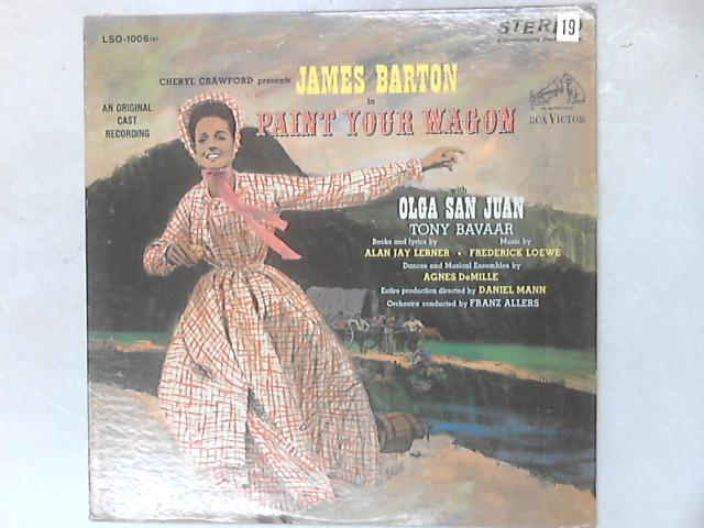 Paint Your Wagon OCR LP By Various