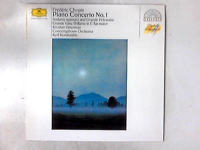 Klavierkonzert Nr. 1 - Andante Spianato Et Grande Polonaise Brillante - Grande Valse Brillante Es-Dur LP By Frédéric Chopin
