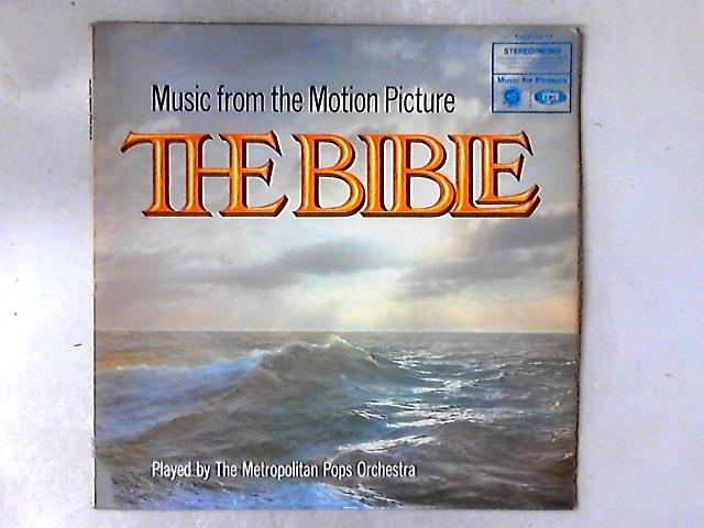 Music From The Motion Picture The Bible LP By The Metropolitan POPS Orchestra