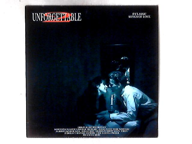 Unforgettable 2 - 17 Classic Songs Of Love LP COMP By Various