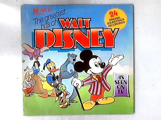 The Greatest Hits Of Walt Disney LP COMP GATEFOLD By Various