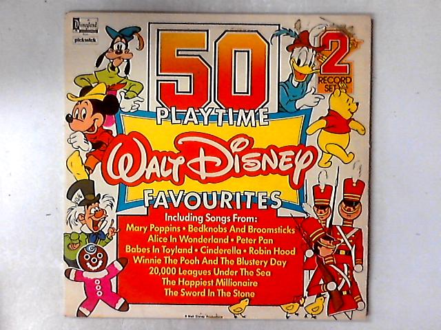50 Playtime Walt Disney Favourites 2xLP COMP By Various