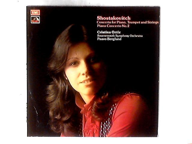Concerto For Piano, Trumpet & Strings, Op.35 / Piano Concerto No.2, Op.102 / Three Fantastic Dances LP by Dmitri Shostakovich
