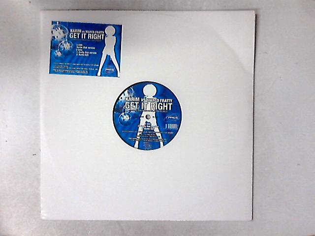 Get It Right 12in By Karim
