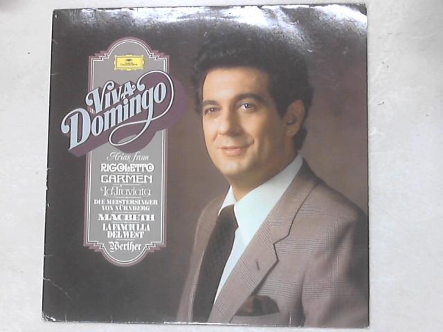 Viva Domingo LP By Placido Domingo
