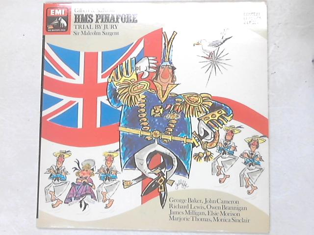 HMS Pinafore/Trial By Jury 2xLP by Gilbert & Sullivan