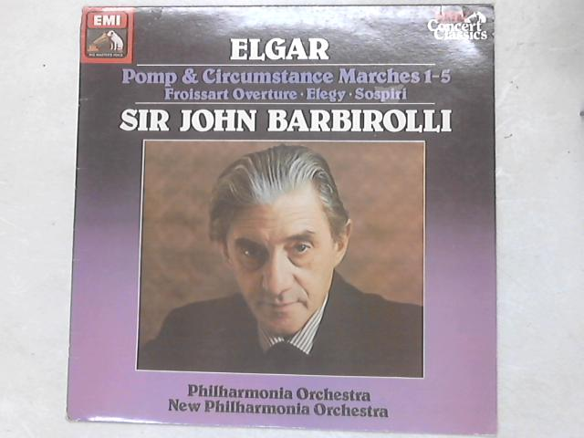 Pomp And Circumstances Marches LP by Sir Edward Elgar