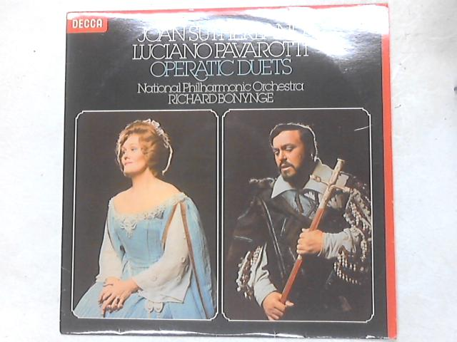 Operatic Duets LP By Joan Sutherland & Luciano Pavarotti
