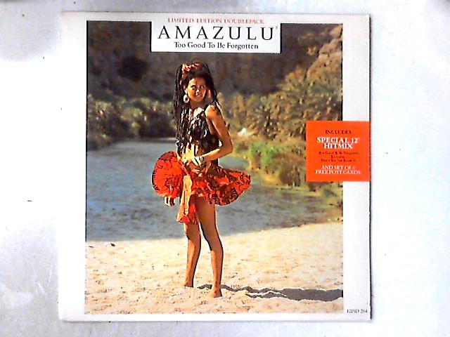 Too Good To Be Forgotten 2x12in by Amazulu