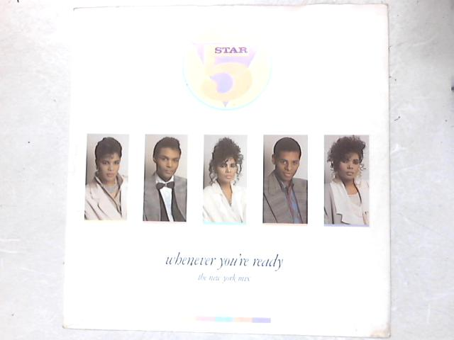 Whenever You're Ready (The New York Mix) 12in Single By Five Star