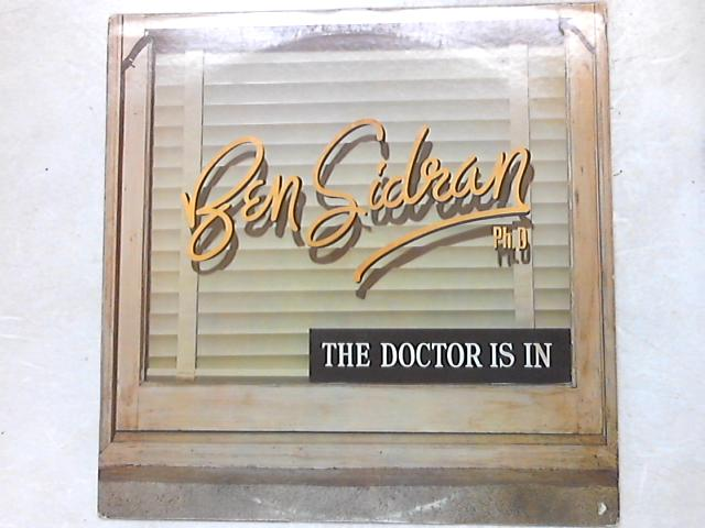The Doctor Is In LP by Ben Sidran