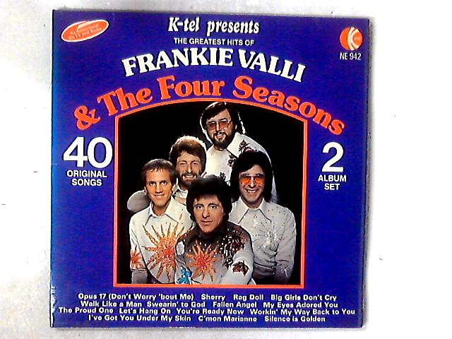 The Greatest Hits 2xLP COMP GATEFOLD by Frankie Valli