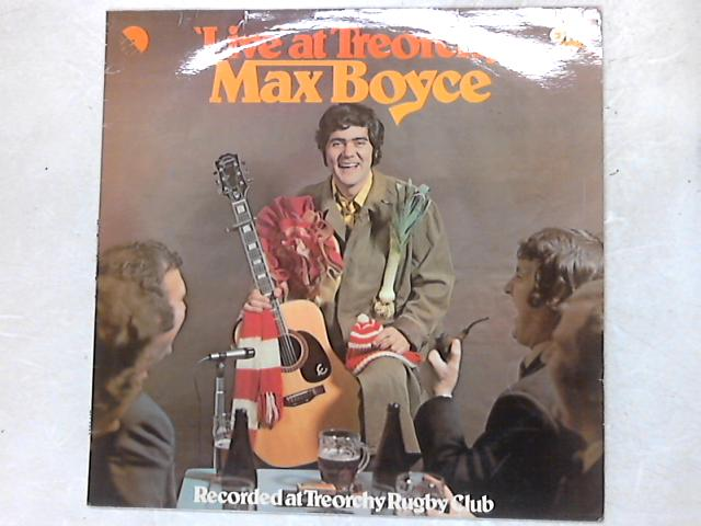 'Live' At Treorchy LP By Max Boyce