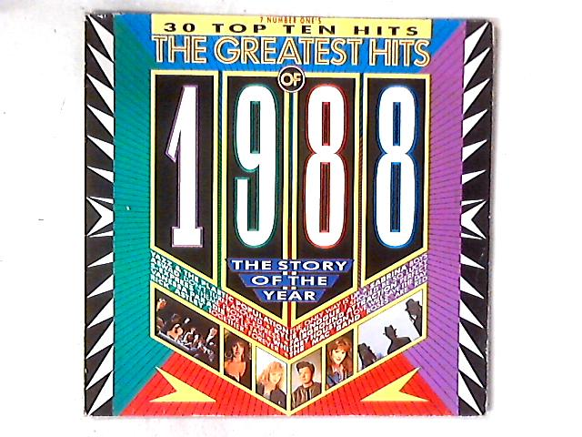 The Greatest Hits Of 1988 2xLP COMP GATEFOLD By Various