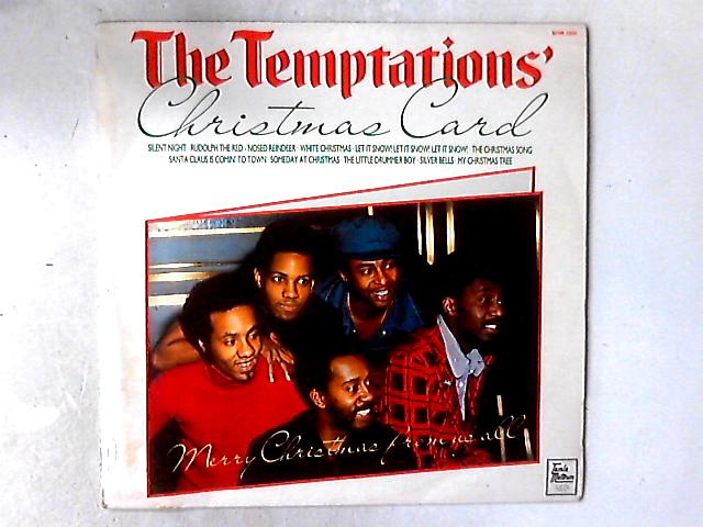 The Temptations Christmas Card Lp By The Temptations
