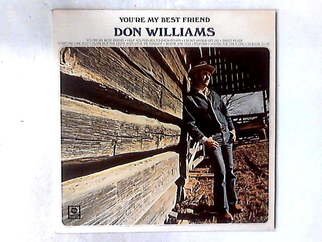 You're My Best Friend LP by Don Williams (2)