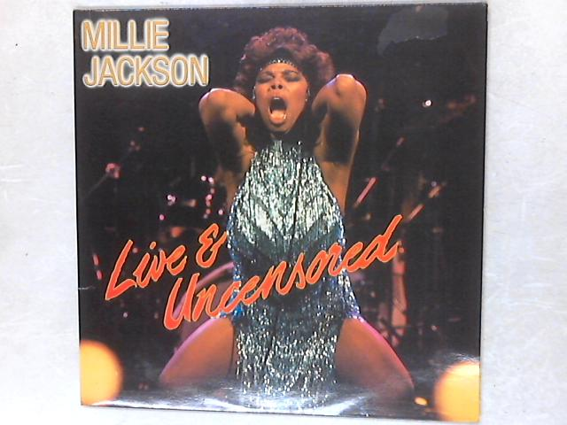 Live And Uncensored 2xLP By Millie Jackson