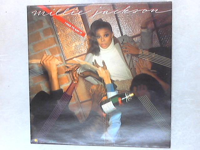 I Had To Say It LP by Millie Jackson