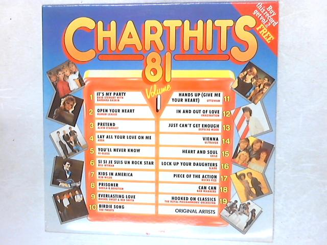 Chart Hits 81 Volume 1 COMP LP By Various