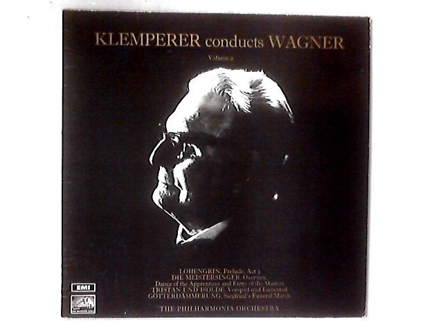 Klemperer Conducts Wagner Volume 2 LP By Otto Klemperer