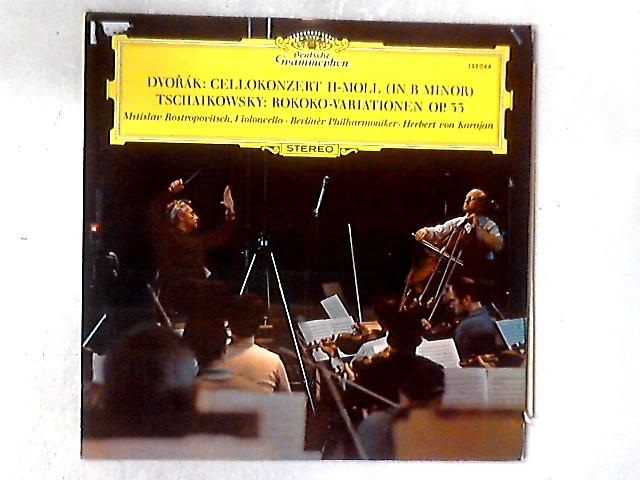 Cello Concerto / Variations On A Rococo Theme LP By Antonín Dvo?ák