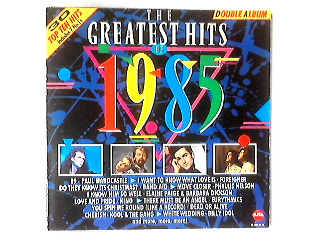 The Greatest Hits Of 1985 2xLP COMP GATEFOLD By Various