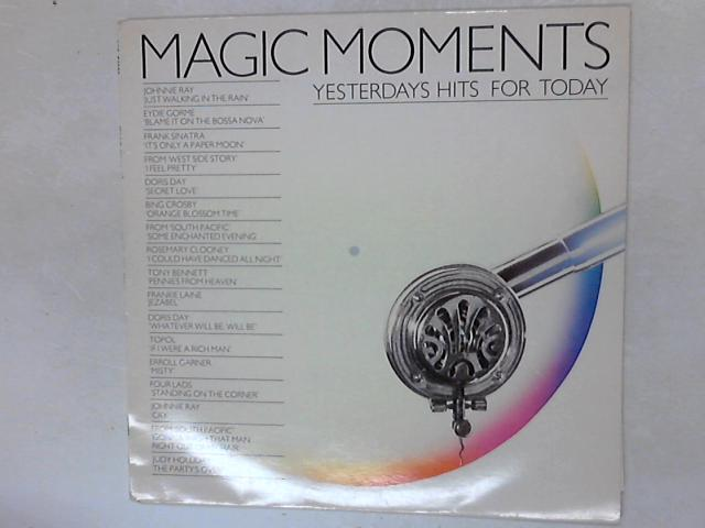 Magic Moments/Yesterday's Hits For Today COMP LP By Various