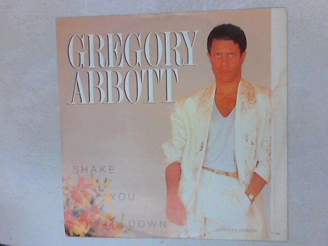 Shake You Down (Extended Version) 12in Single By Gregory Abbott
